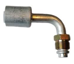 Фитинг с гильзой MALE O-RING (МOR)  Алюминий 90°