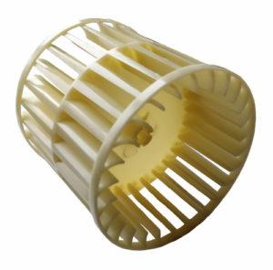 Крыльчатка для радиального электродвигателя