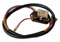 Резистор испарителя 3 скорости на 1 вентилятор 12-24V Formula